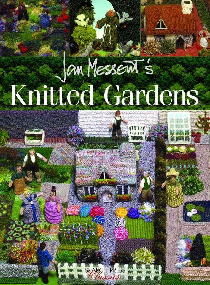 Link to Knitted Gardens by Jan Messent