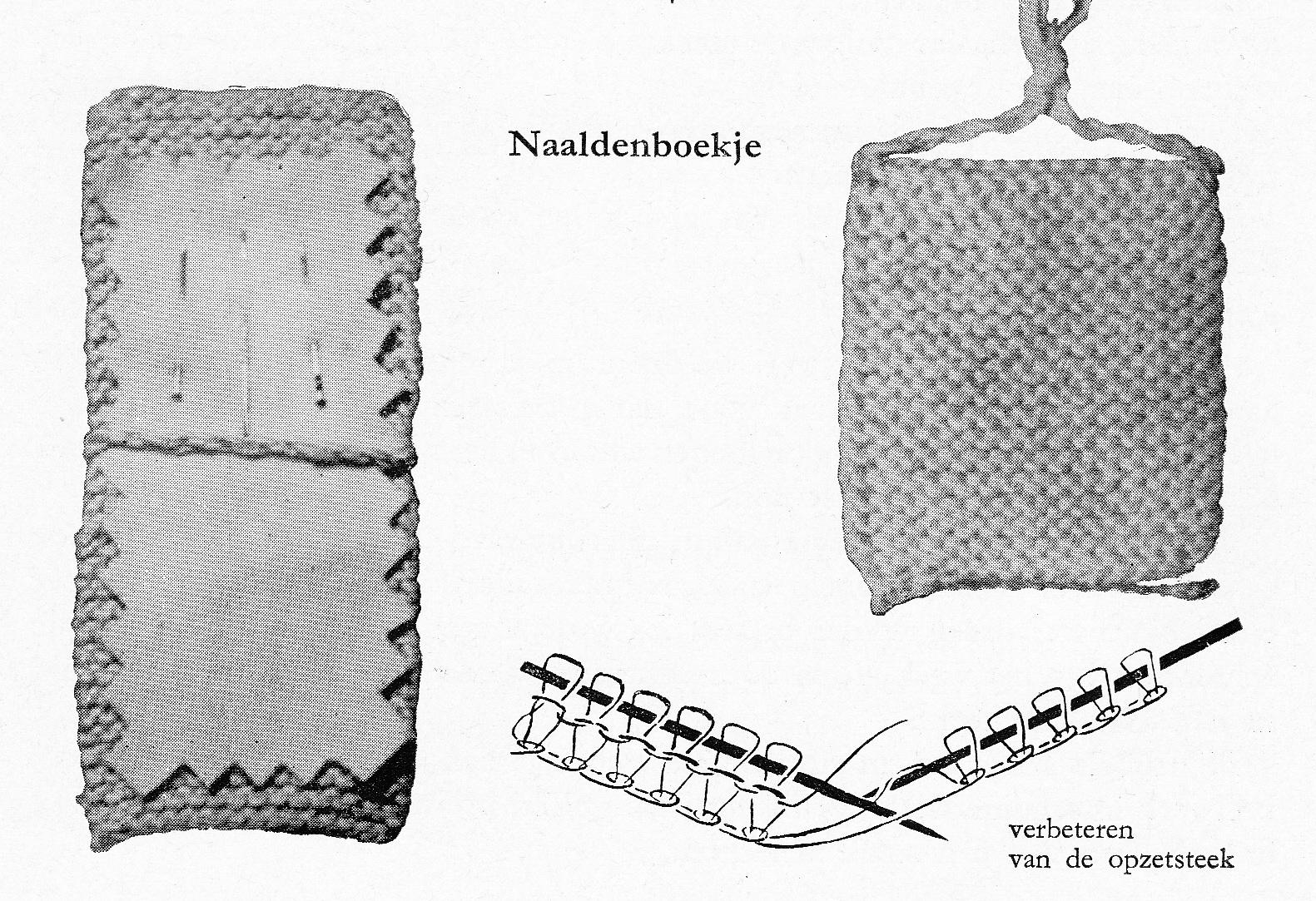 nuttige handwerken needle booklet